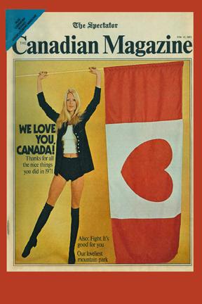 The Spectator's Canadian Magazine February 12, 1972